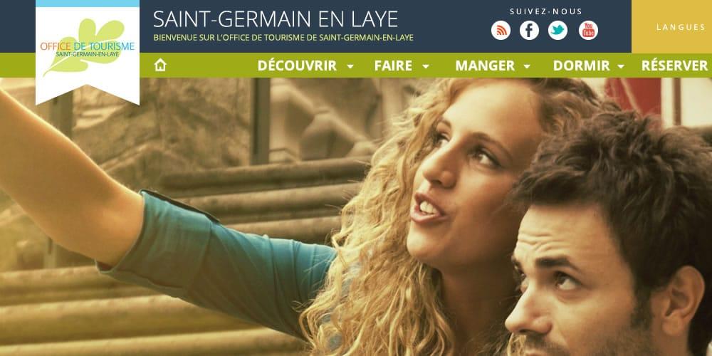Stéphane Razat Web designer Toulouse : Office du tourisme de Saint-germain en Laye